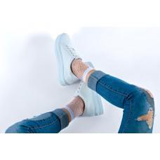 Fishnet - Socks - Small net - Covered sole
