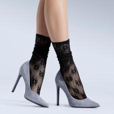 Socks - Glamour 06 - Floral pattern