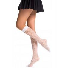 FishnetX - Knee-high - Small net - Reinforced toe